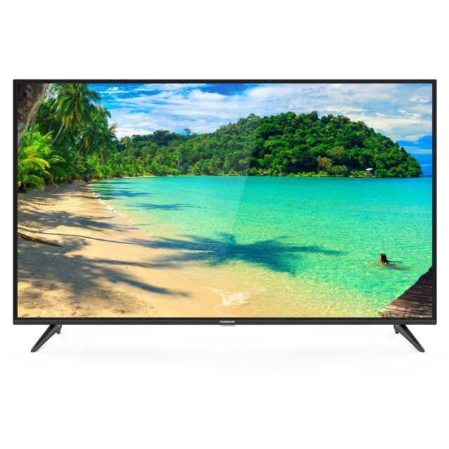 thomson televiseur 109cm tv led 43 pouces 4k uhd smart tv. Black Bedroom Furniture Sets. Home Design Ideas