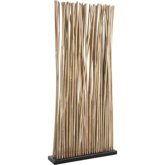 AUBRY GASPARD - Paravent 34 tiges de bambou Multicolore