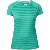Berghaus - Stripe Ii - T-shirt manches courtes - vert/turquoise