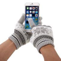 c2e57a090399 Wewoo - Gants tactiles iPad gris pour l iPhone, Galaxy, Huawei, Xiaomi