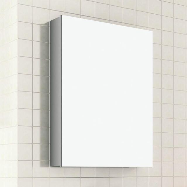 Evidence Armoire De Toilette 50 Cm 1 Porte Avec Miroir Turin Pas