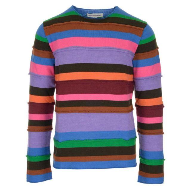 COMME DES GARÇONS Comme Des GarÇONS Shirt Homme W275151 Multicolore Acrylique Maille
