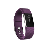 FITBIT - Charge 2 Prune / Argent L