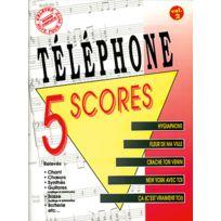Musicom - Partitions Variété, Pop, Rock. Telephone - 5 Scores Vol. 2 Scores
