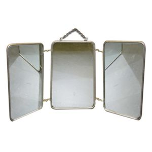 Elegant graham and brown miroir barbier en mtal battants - Miroir de loge pas cher ...