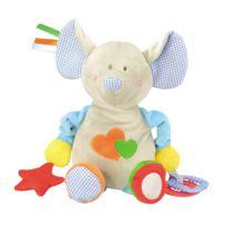 Bloomy - Peluche d'activités 30 cm : Éléphant