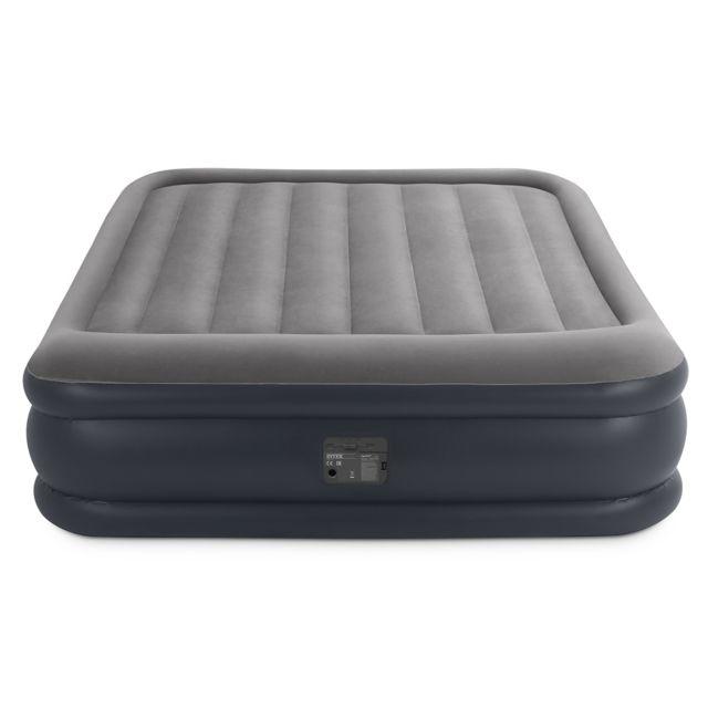 Matelas Gonflable Deluxe Rest Bed Fiber Tech 2 Places