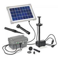 Esotec - Kit pompe solaire bassin Palermo Led