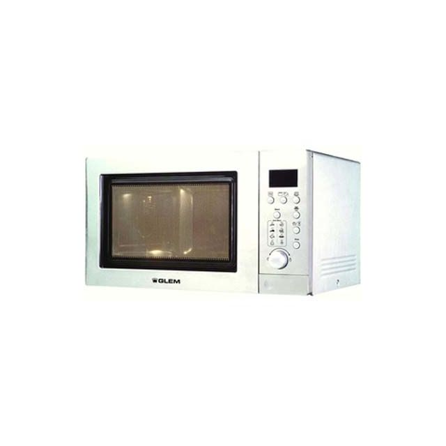 GLEM Four Micro-Ondes Gril GMF253WH GMF 253 WH, Blanc