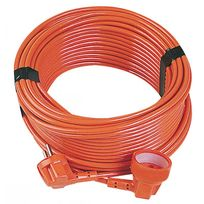 Gefom - Prolongateur 20 m 3X1,5 mm² Orange