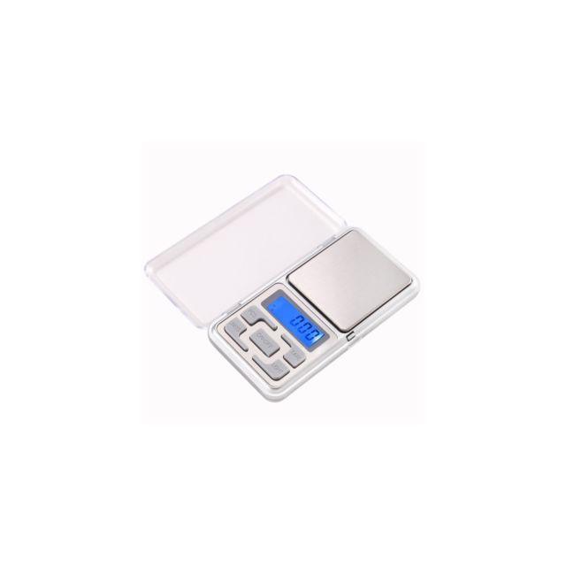 Auto-hightech Mini balance digitale de poche - 0.01g • 200g Argentée