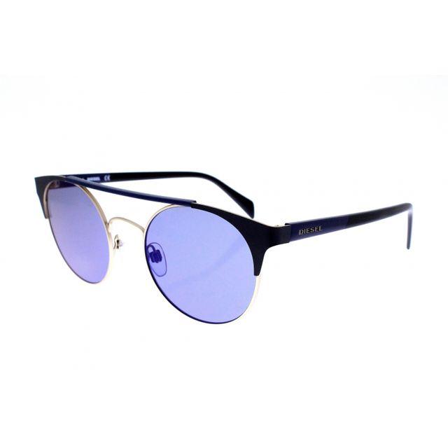 Diesel - Dl 0218 33X - Lunettes de soleil mixte Noir - pas cher Achat    Vente Lunettes Tendance - RueDuCommerce 72f4d6c50617