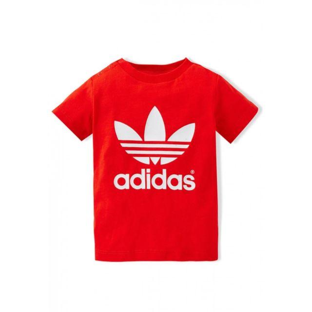 Adidas Tee shirt Originals Trefoil Bébé F76751 pas