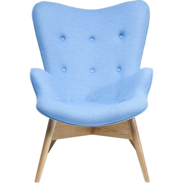 Karedesign Fauteuil Angels Wings bleu eco Kare Design