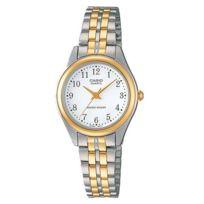 Casio - Montre Ltp1129G 7B Femme Bracelet Acier Plein Aiguilles