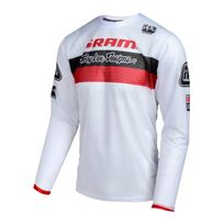 Troy Lee Designs - Sprint Air Sram Tld - Maillot manches longues - Racing rouge/blanc