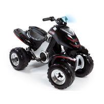 Smoby - Quad enfant électrique X power carbonne