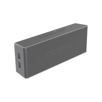Creative Labs - Creative MUVO 2 Bluetooth Wireless Speaker Grey
