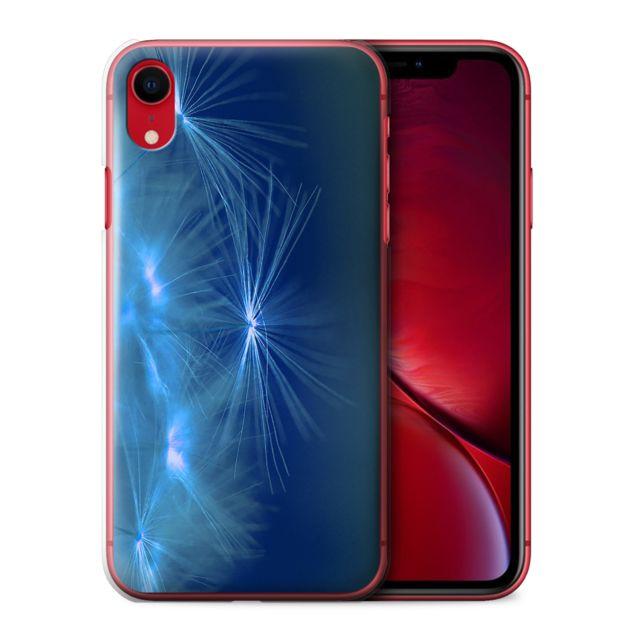 coque iphone xr apple bleu