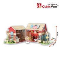 Cubicfun - Puzzle 3D 84 pièces : Sweet Villa