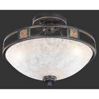 France Luminaires - Plafonnier Quinta Rouille 608100324 - Trio Lighting