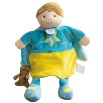Doudou Et Compagnie - Marionnette super-héros bleue