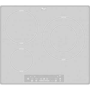 Whirlpool acm680newh achat plaque de cuisson - Table vitroceramique blanche ...