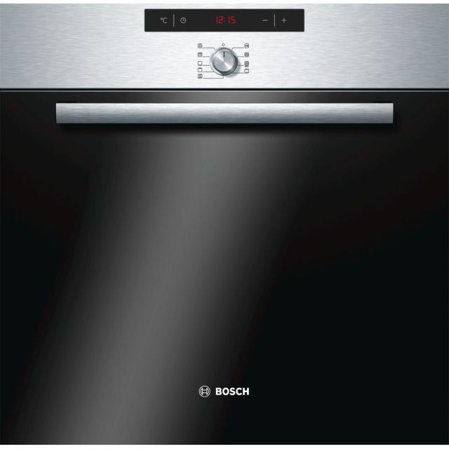 Bosch four intégrable multifonction 60l a pyrolyse inox - hba64b056f