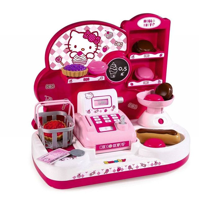 Smoby Marchande Caissiere Patisserie Hello Kitty Pas Cher