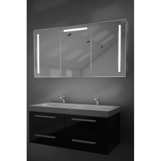 Diamond X Collection - Armoire De Toilette Led Cali Avec Anti-Buée ...