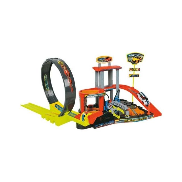A1102343 Miniature Véhicule Partner Jouet Circuit Et Garage XOPuwiTkZ