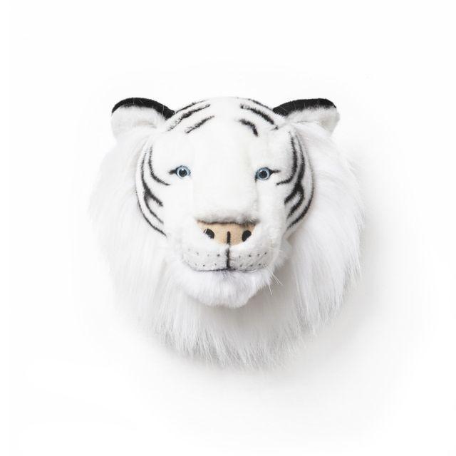 Bibib & Co - Tête de tigre blanc Albert