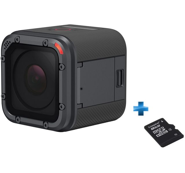 GOPRO - Pack Amateur Hero5 Session + Carte SD 8 Go