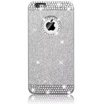 coque iphone 8 brillant argenté