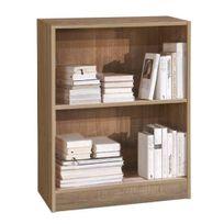 Comforium - Bibliothèque 60 cm avec 1 étagère coloris sonoma clair