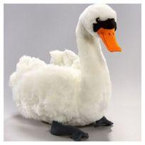 Carl Dick - Peluche Swan. 24cm de longueur 23cm de haut