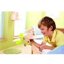 Haba - Jeu de construction en bois : Terra Kids Kit avion