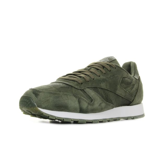 1cba505080dd6 Reebok - Classic Leather Cte Army Green - pas cher Achat   Vente ...