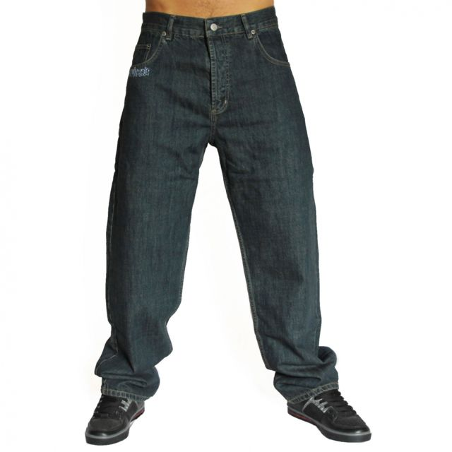 newest new style buying now Psykopit - Jeans baggy Kiss Rugged - pas cher Achat / Vente ...