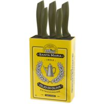 BALVI - Set 5 couteaux Olives avec rangement Olives