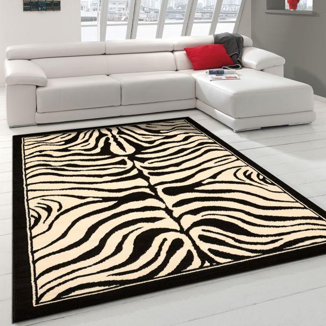 tapis moderne Bc Zebre - tapis decoration - tapis salon tapis chambre