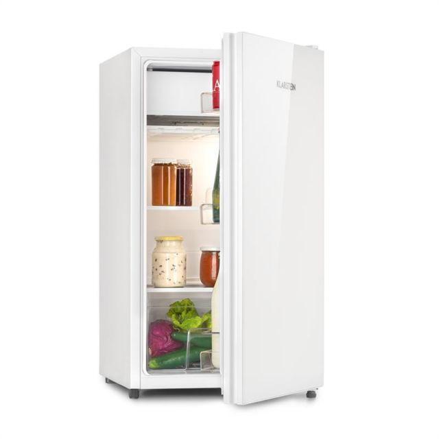 KLARSTEIN Luminance Frost Réfrigérateur 91L crisper clayettes verre classe A bla