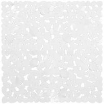 Planetebain - Tapis de douche anti dérapant Cabourg Blanc