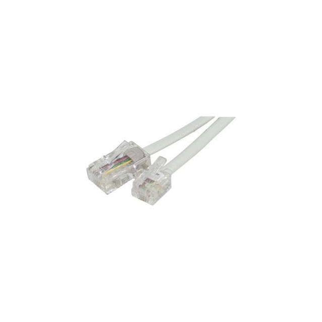 Cabling cable rj11rj45 mm 3 mètres