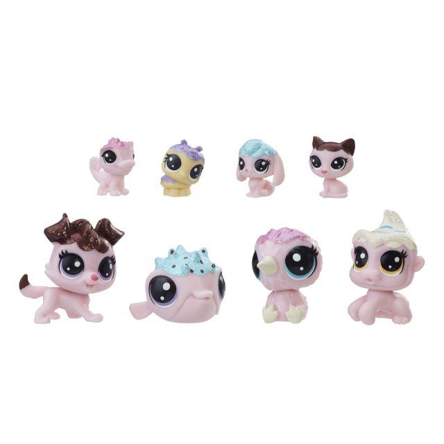 PetshopBilster Tendance Littlest 8 Figurines Collection Sucrée 8mN0vnw