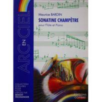 Combres - Sonatine Champêtre - Maurice Bardin - Flûte et piano