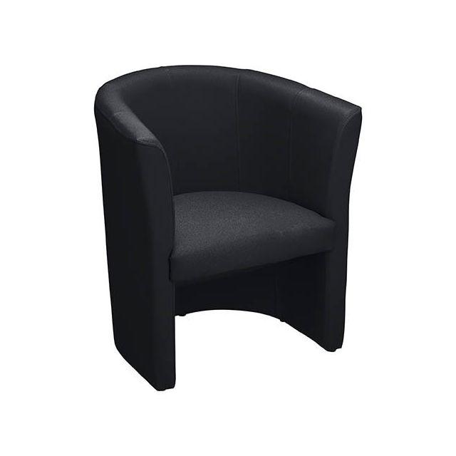 Chauffeuse Premium tissu classique noir