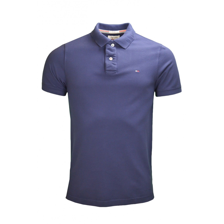 Puma Polo Spirit pour homme Bleu Bleu nuit/blanc Small D4TGMLR
