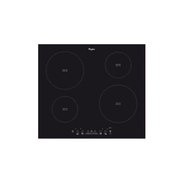 whirlpool table de cuisson induction l60 cm acm804ne achat plaque de cuisson induction. Black Bedroom Furniture Sets. Home Design Ideas