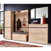 penderie 40 cm profondeur achat penderie 40 cm profondeur pas cher rue du commerce. Black Bedroom Furniture Sets. Home Design Ideas